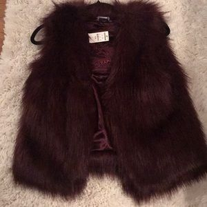 Furry Express Vest. Never worn